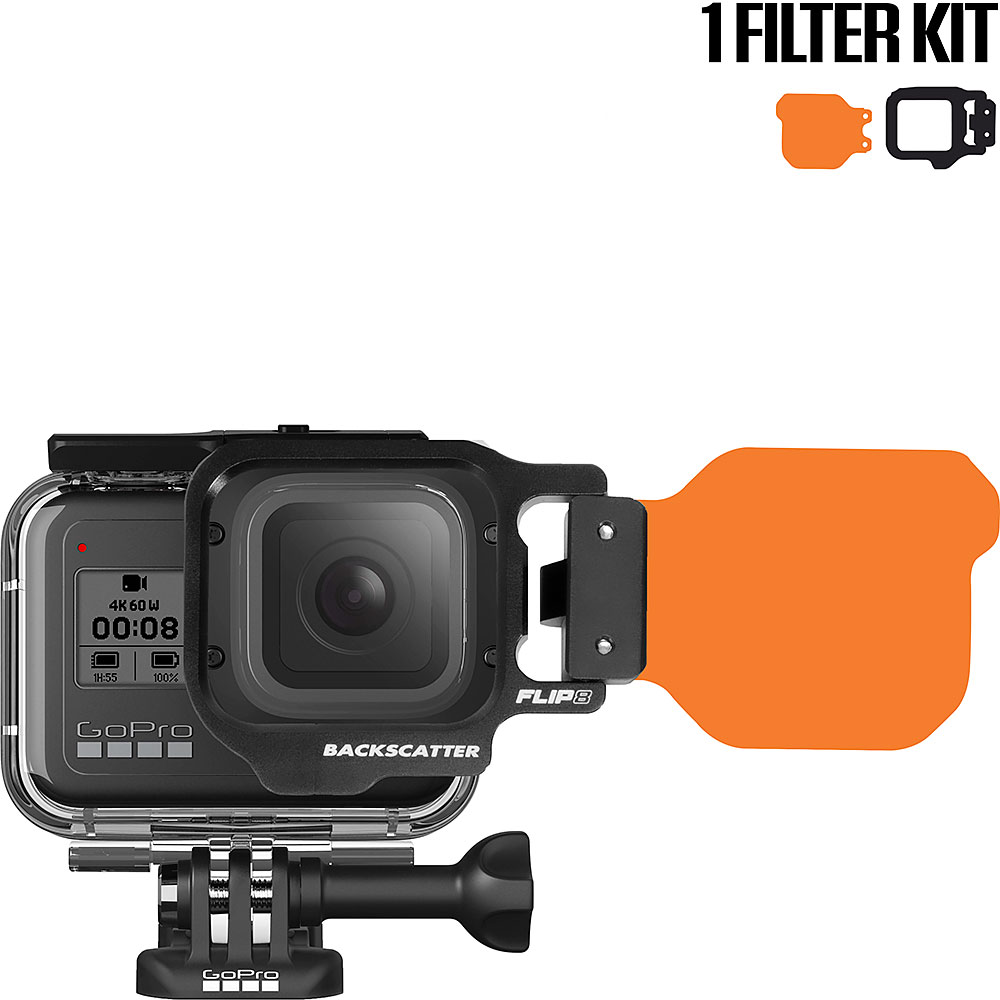 FLIP8 One Filter Kit with DIVE Filter for GoPro 5, 6, 7, 8